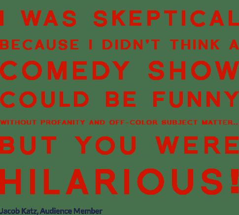 Image of Skeptical Comic